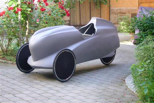 Completely different velomobile
