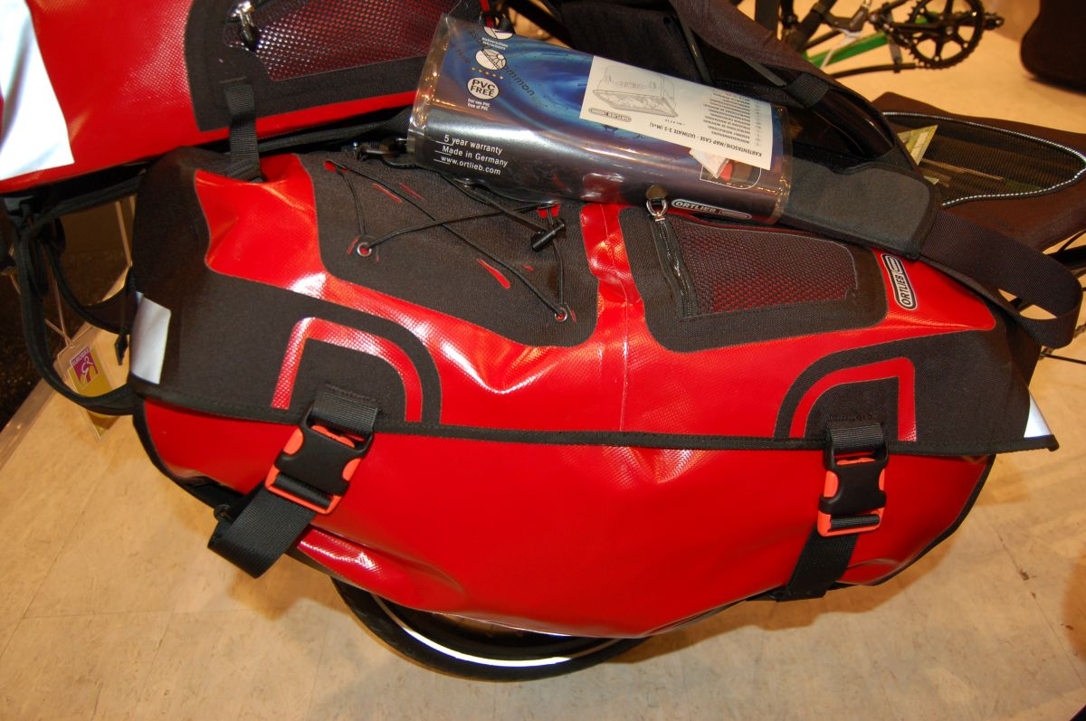 Ortlieb has introduced new recumbent bags
