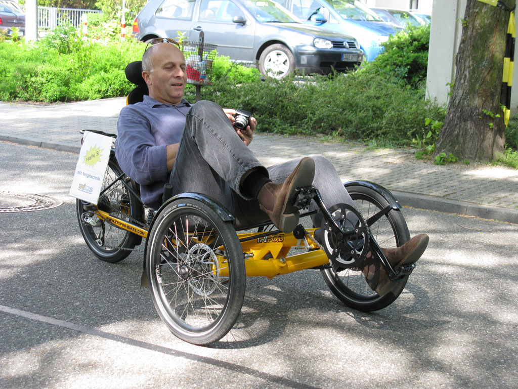 Tilting trike popularity