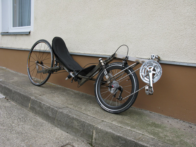 Recumbent lowracer creation from Slovenia