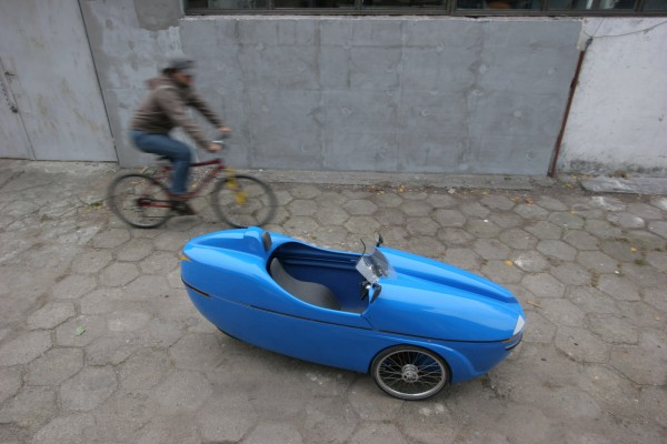Velomobile from Poland