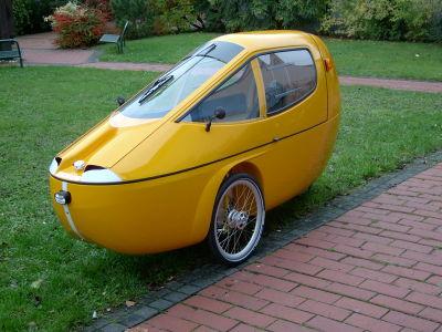 New Cab-bike velomobile