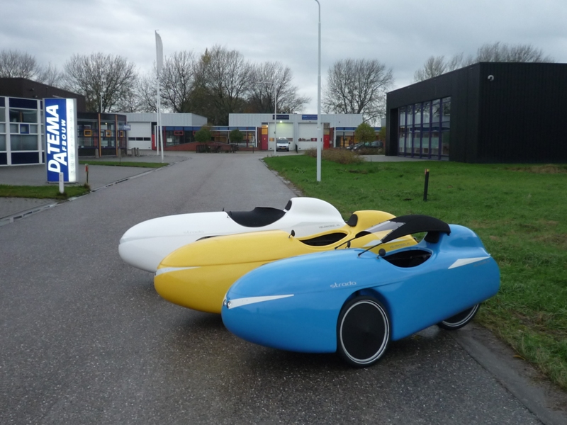New velomobile from Velomobiel.nl – Strada