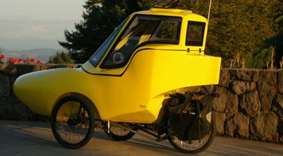 Tripod velomobile