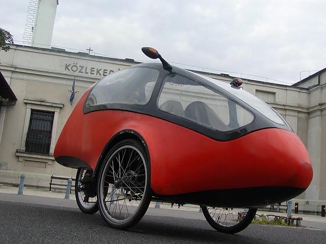 Pannonrider – solar velomobile