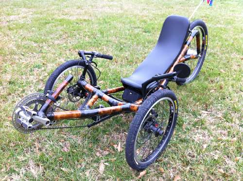 How to build a recumbent trike out of bamboo