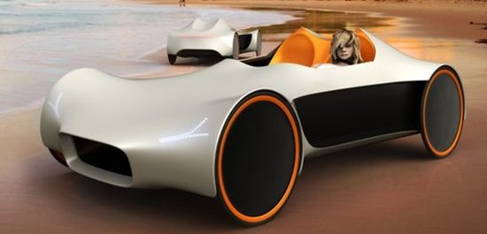 Velomobile concept to be made out of fabric