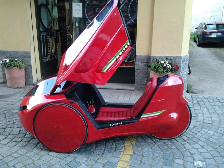 Italian velomobile from Leonardo Leuci