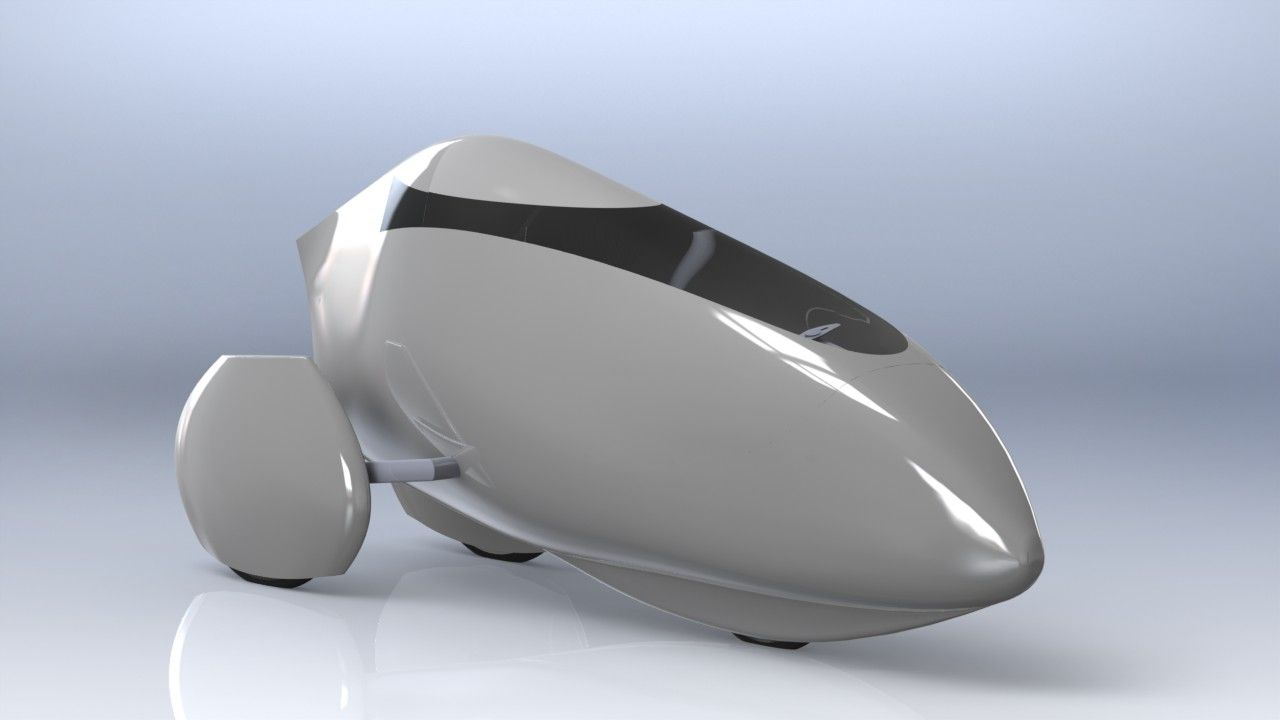 VeloTilt  – a tilting velomobile from Holland