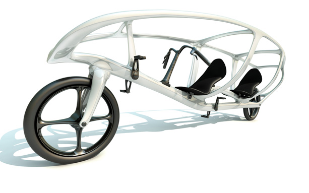 Design concept of solar powered recumbent tandem