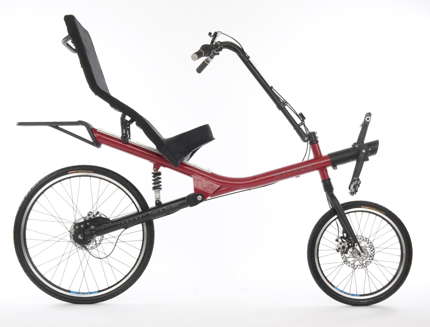 First recumbent with shaft drive to go into serial production