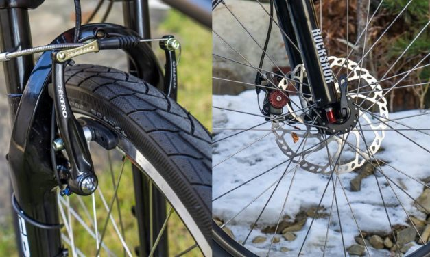 V-brakes vs. disc brakes. What's better?