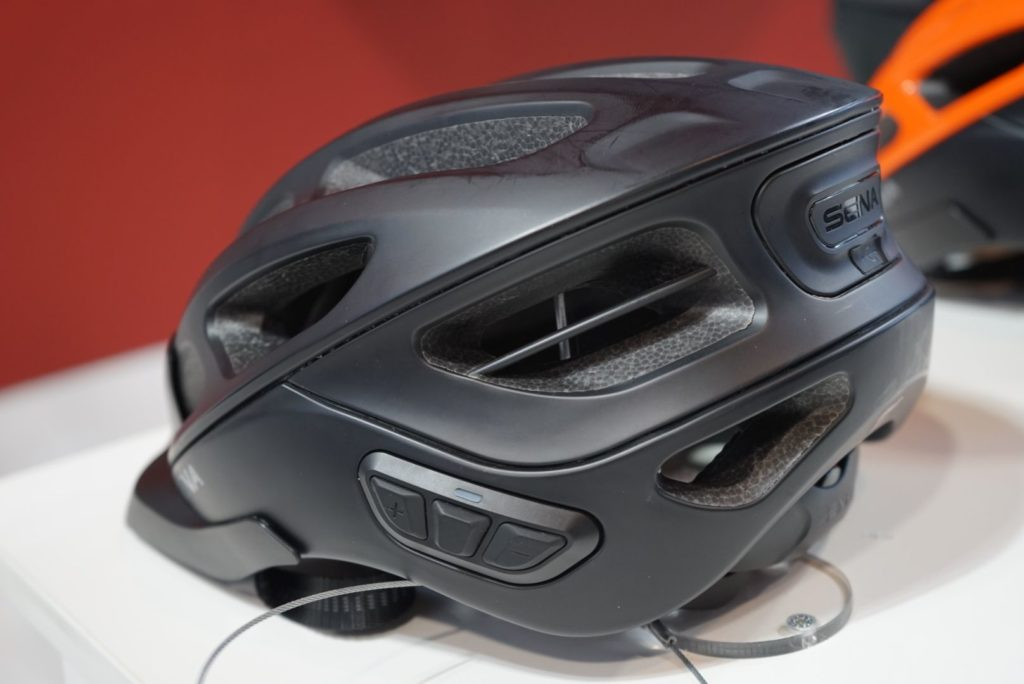 Sena helmet for cyclists works as a device for communication among cyclists in the riding group