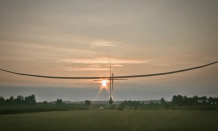 The first-ever Human-Powered Ornithopter flight