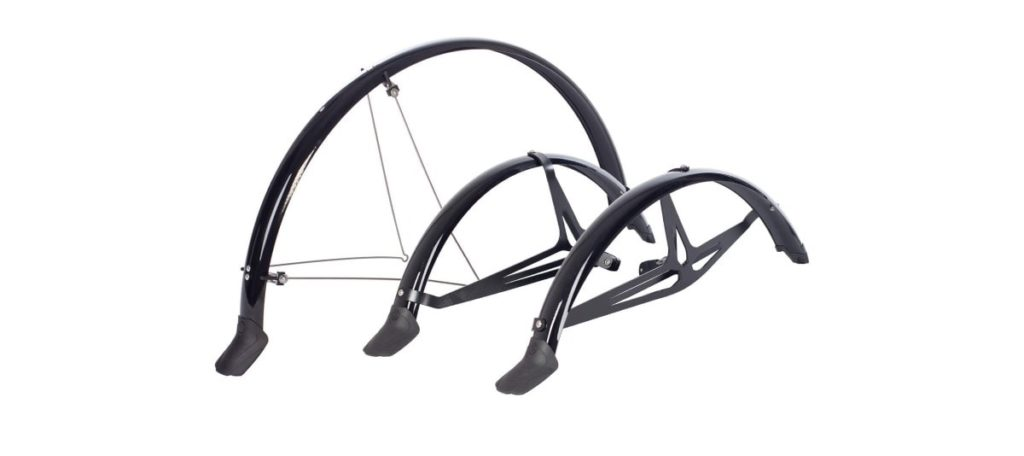 Mudguards for recumbent trikes