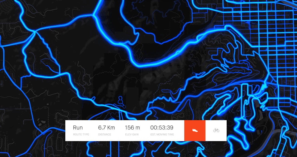 Get recommended route for yourself – new feature from Strava
