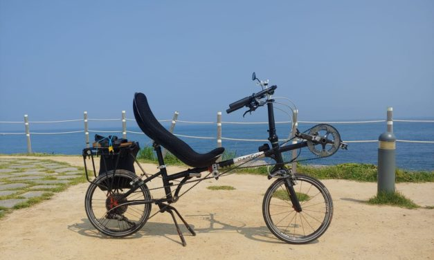 Homebuild project: Conversion of Dahon into recumbent folding bike