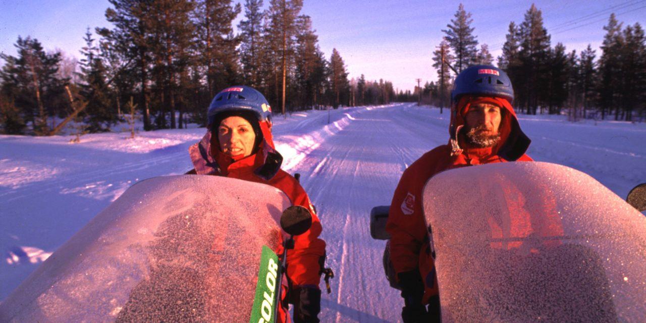 ⭐️ 1990 Winter recumbent expedition to Nordkapp
