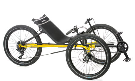 New all 24″ wheels trike from Terra Trike is here