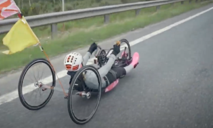 🎥 Breaking the Land's End to John O'Groats WORLD RECORD, using only her arms