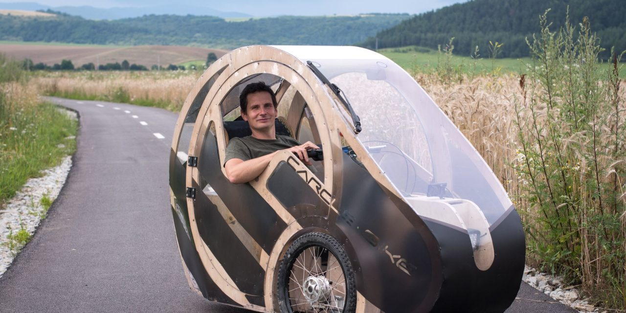 Plywood velomobile from Slovakia – The Carcle Bike