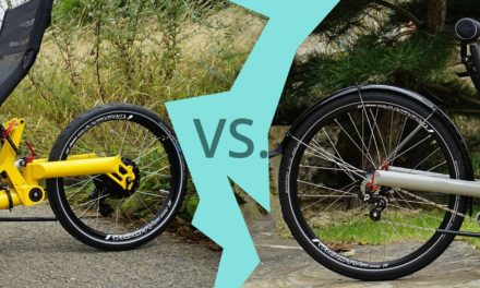 What is the best rear wheel size for a trike?