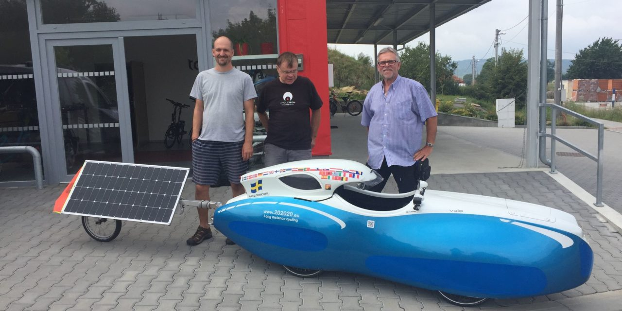 Solar velomobile from Alve