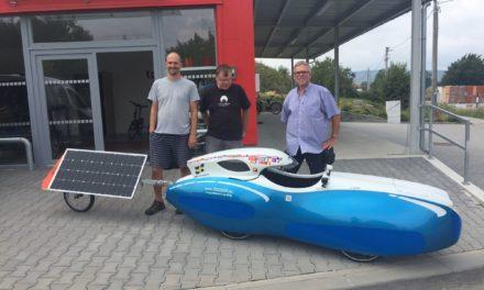 Solar velomobile from Alve