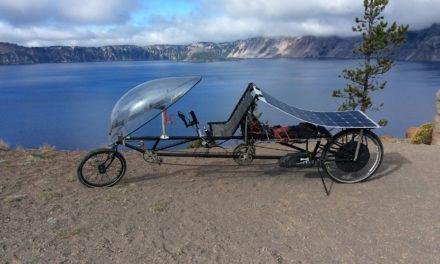 Don's solar-powered gear hauler