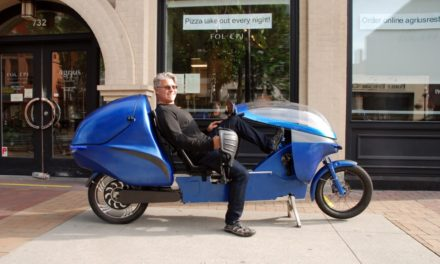 Electrom: Is this the ultimate urban recumbent?