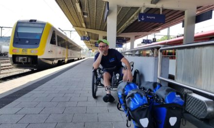 10 to 1: Gary Solomon is dreaming about self-steering recumbents