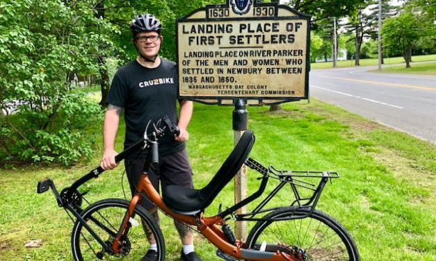 10 to 1: Robert Holler is working on reducing the gap between the upright bike and the recumbent industry