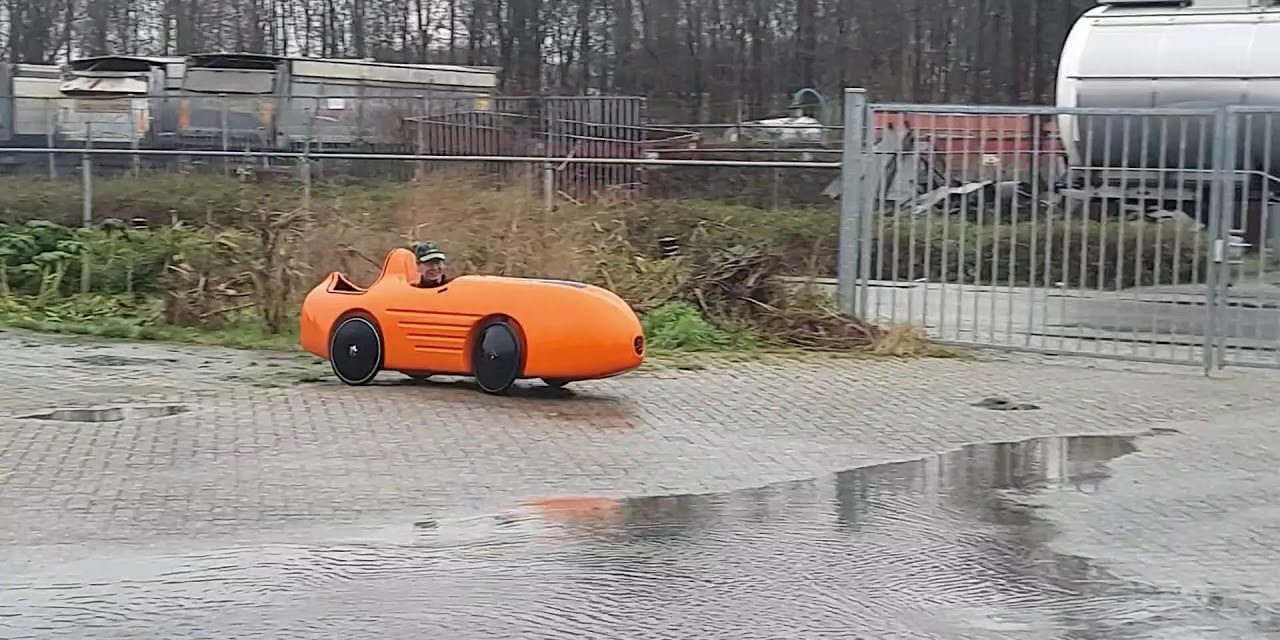 🎥 Sunday video: New four-wheel velomobile the DF4 + some info from the designer