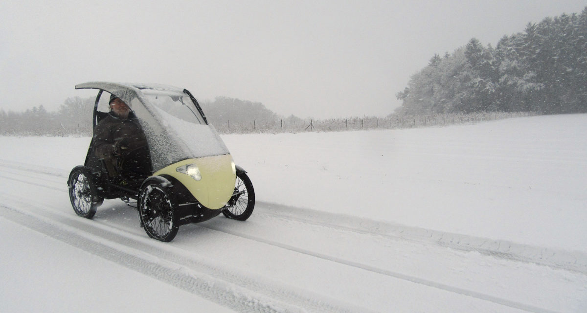 🎥 Sunday video: Winter velomobile fun