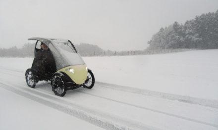 🎥 Sunday video: Winter velomobile fun