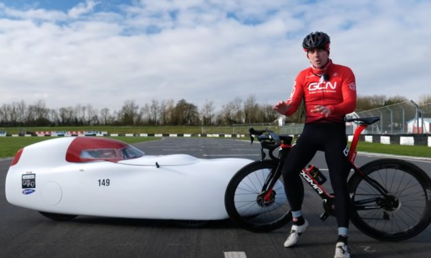 🎥 Velomobile vs. road bike