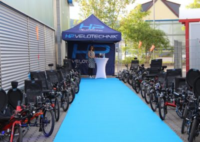 HP Velotechnik is a recumbent manufacturer from Germany