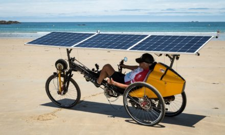 The ultimate tilting solar-powered serial-hybrid delta trike