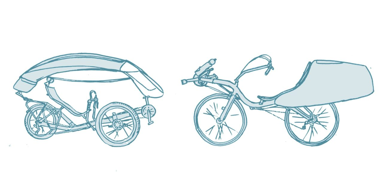 Comprehensive list of recumbent accessory manufacturers