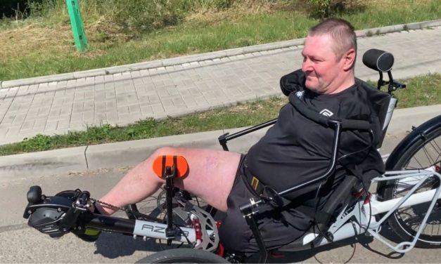🎥 Sunday video: No hands controls single-leg powered trike