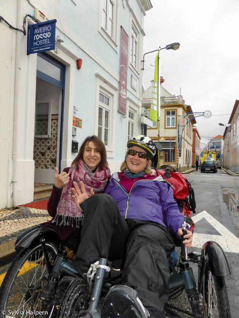 Meeting people while cycle toruing