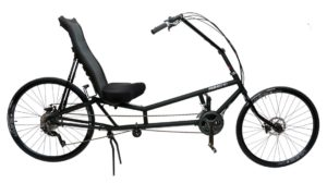 Long wheel base recumbent bike formerly known as RANS