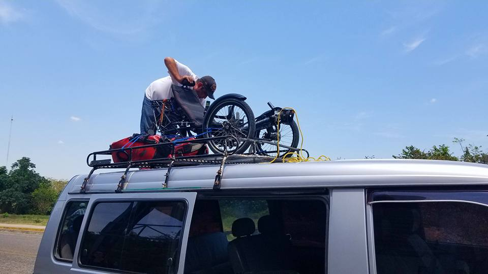 Transporting trikes can be as easy as this