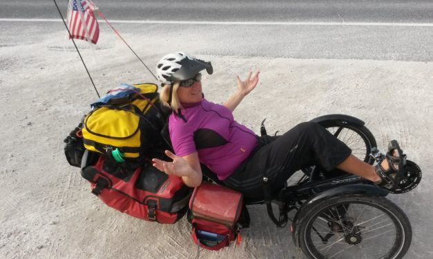 10 to 1: Sylvia Halpern gets a better workout with the E-assist than SHE did without