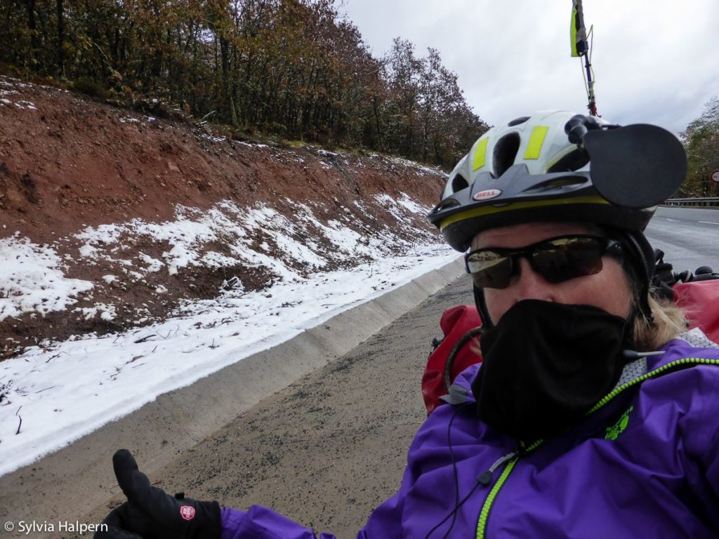 Bike touring in SPain can be challenging