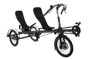 Recumbent tandem trike from ZOX