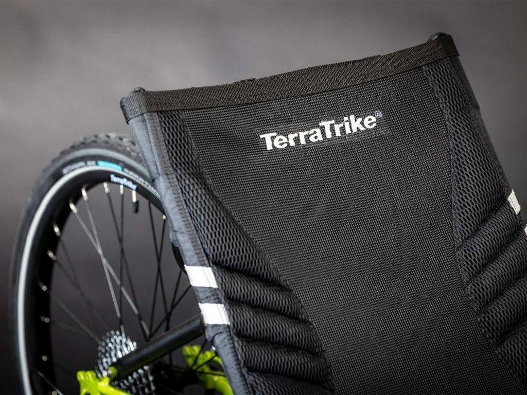 Comfortable recumbent seat from Terra Trike