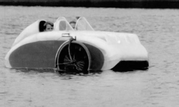 🎥 Sunday video: Finnish amphibious velomobile from 1949