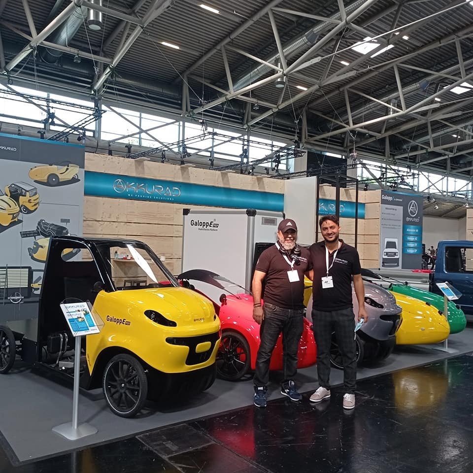 2021 IA show and electric vehicles presented by Akkurad