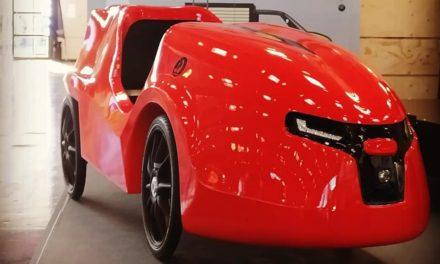 Another velomobile quad